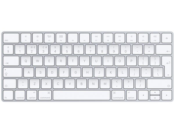 Apple Magic Bluetooth Keyboard, British (Lightning) V2