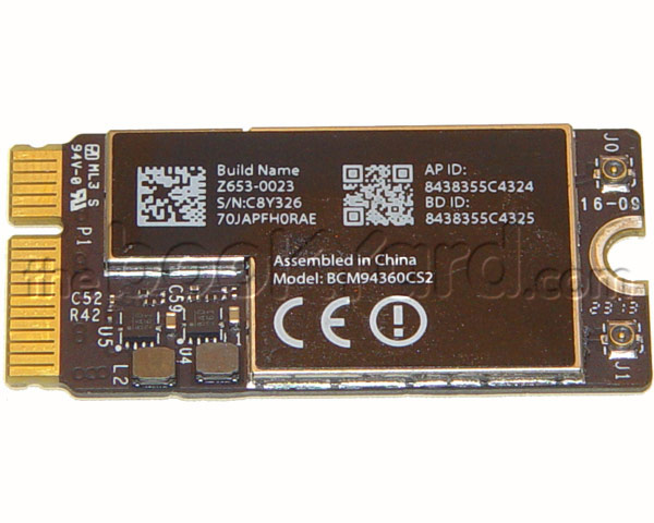 "MacBook Air 13"" AirPort/Bluetooth Card (13-17)"