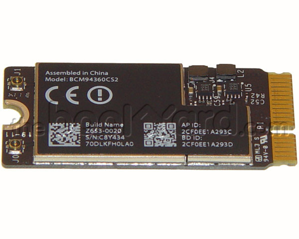 "MacBook Air 11"" AirPort/Bluetooth Card (13-15)"