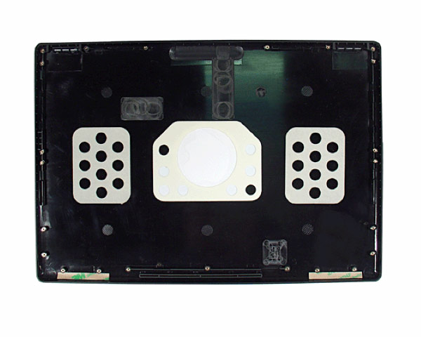 MacBook lid panel, Black