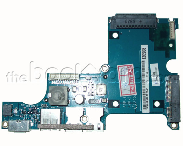"MacBook Pro 15"" IO Board, DC-in/Audio (2.16/2.33GHz C2D)"