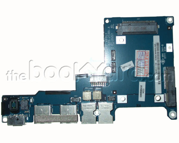 "MacBook Pro 17"" IO Board, DC-in/Audio (2.33GHz C2D)"
