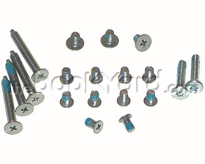 "MacBook Pro 17"" Screw Set, Complete Outer Casing"