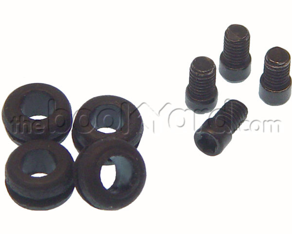 Mac Mini Screw Set -  Upper Bay/w Grommets (x4) (10-14)