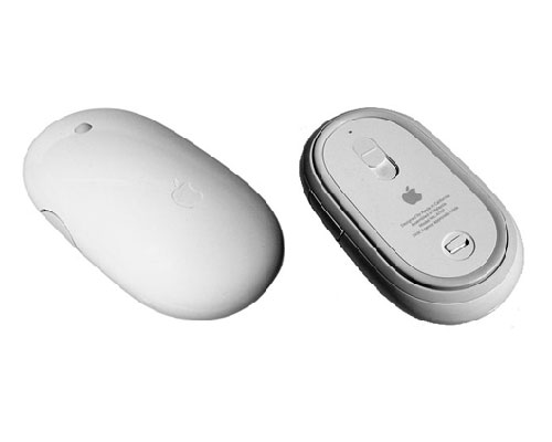 Apple Mighty Mouse, Bluetooth 661-3916 661-4407 A1197