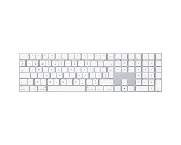 Apple Magic Bluetooth Keyboard, UK Extended - Silver