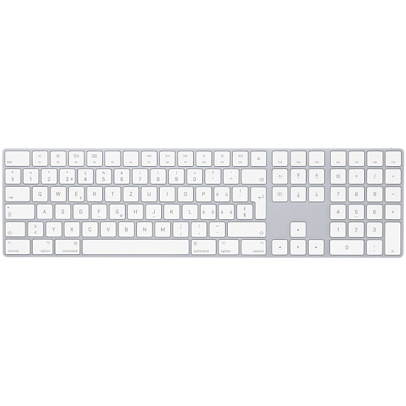 Apple Aluminium Keyboard, USB Extended, Swiss