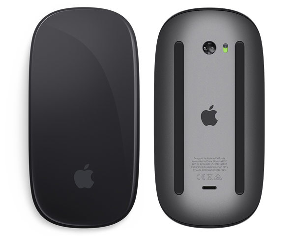 Apple Magic Mouse, Bluetooth - V2 - Space Grey