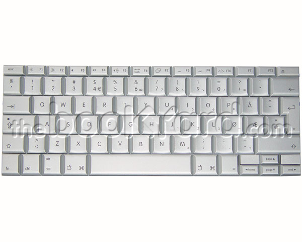 "MacBook Pro 15"" Keyboard Norwegian (2.2/2.4GHz SR)"