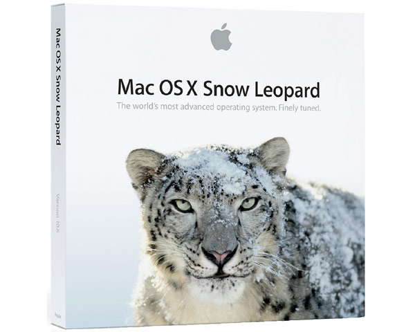 MacOS X 10.6.3 Snow Leopard full retail installer, DVD (Boxed)