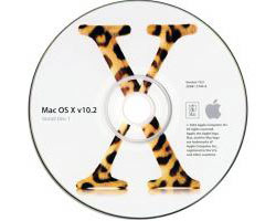 "MacOS X 10.2.3 PowerBook G4 12"" set (3 disks)"