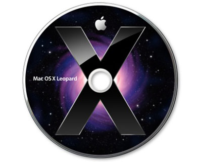 MacOS X 10.5.4 Leopard full retail installer, DVD