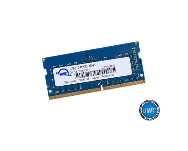 OWC PC4-19200 2400MHz 8GB 260pin DDR4 SODIMM