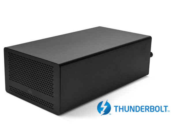 OWC Mercury Helios 3 Thunderbolt 3 - Single PCIe Chassis - 40Gb/