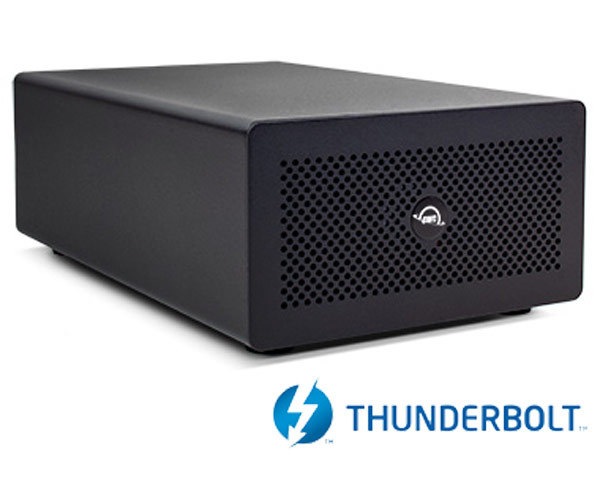 OWC Mercury Helios 3S Thunderbolt 3 - Single PCIe - 40Gb/s
