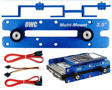 "OWC Multi-mount 1x2.5/3.5"" to 5.25\"" kit (06/08 MacPro)"
