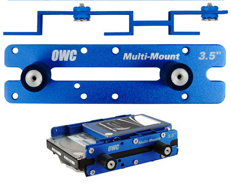 "OWC Multi-mount 2.5"" to 3.5"" and 3.5"" to 5.25"" bracket set"