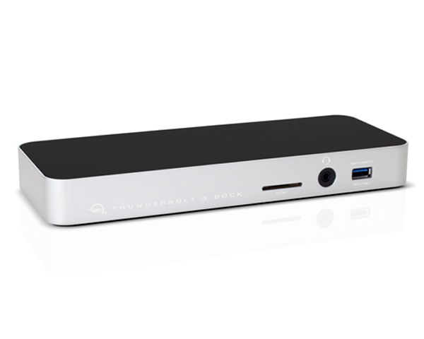 OWC ThunderBolt 3 Dock - 12 Port - Silver