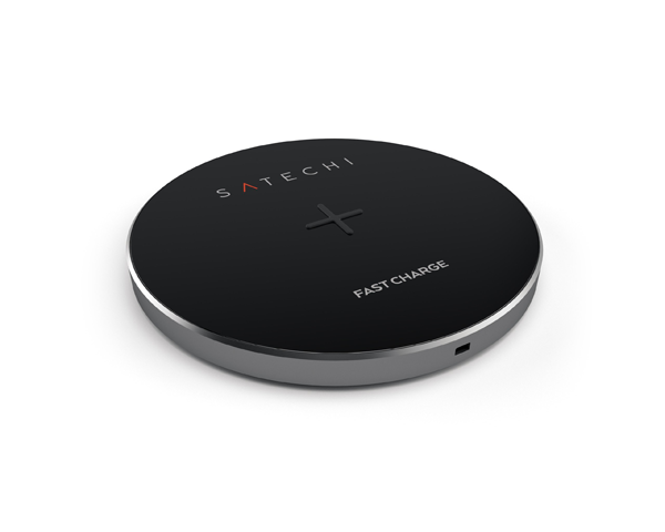 Satechi Aluminium Wireless Charger - Space Grey
