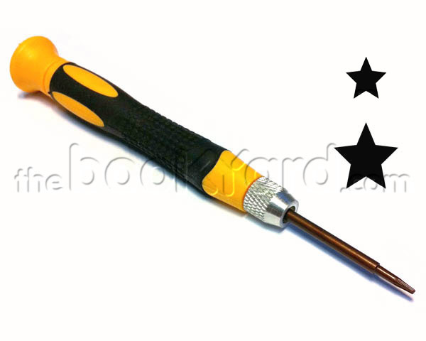 Reversible Torx Plus (pentalobe) 0.8/1.2mm Screwdriver