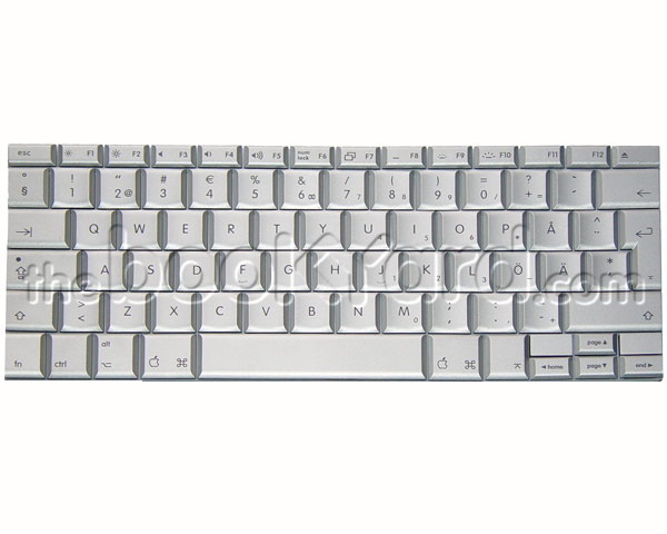 "MacBook Pro 15"" Keyboard Swedish (2.2/2.4GHz SR)"