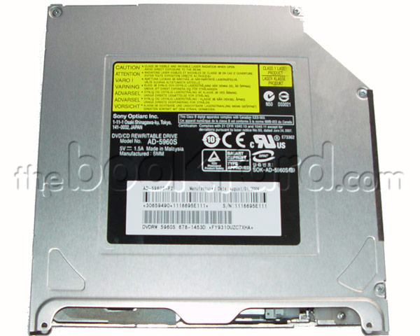 Sony Optiarc AD-5960S SATA super-slim superdrive