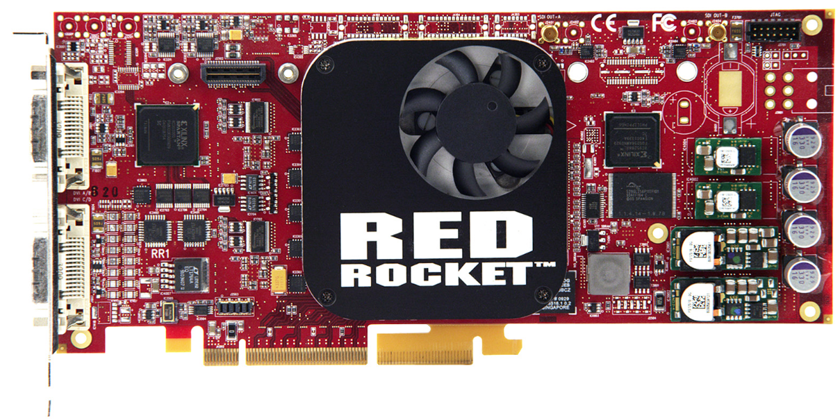 RED Digital Cinema, Red Rocket PCI Card for R3D Workflow