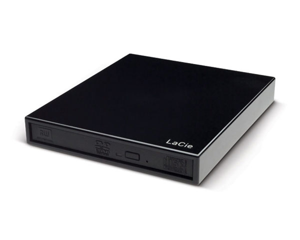 LaCie Slim USB Bus-Powered DVD±RW SuperDrive