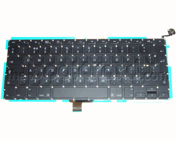 "Unibody MacBook/MacBook Pro 13"" Keyboard, Danish 08-12 (v1)"