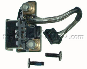 Unibody Macbook DC-In/MagSafe board and cable (08)