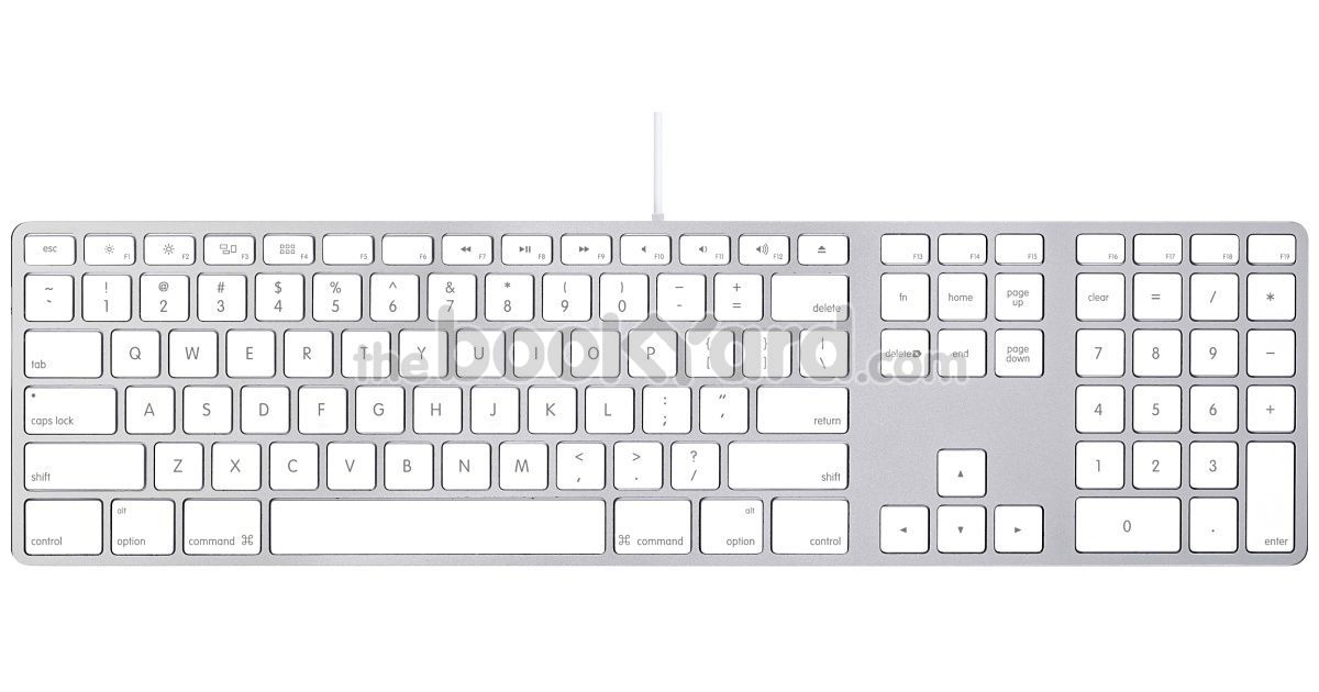 Apple Aluminium Keyboard, USB Extended US 2011
