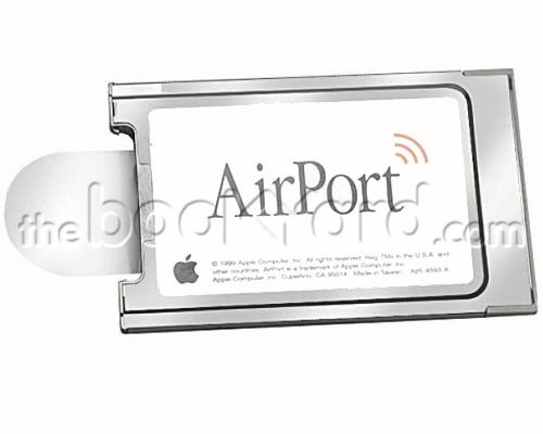Airport card. Original Apple 11Mbps 802.11b