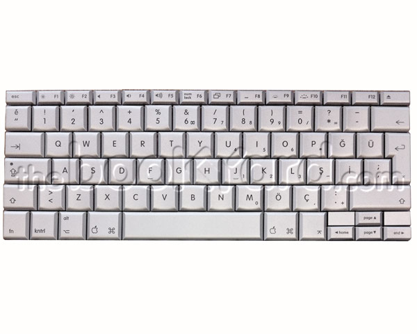 "MacBook Pro 15"" Keyboard Turkish Q (Core Duo)"