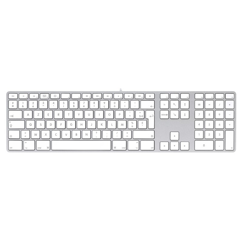 Apple Aluminium Keyboard, USB Extended, Hungarian