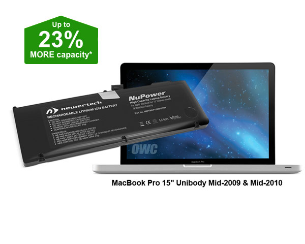 "NewerTech Unibody MacBook Pro 15"" Battery - 78Wh (09/10)"