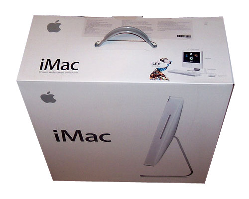 "iMac Intel 20"", White, Box"