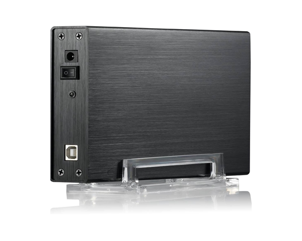 "Evo Labs 3.5"" SATA External Hard Drive Enclosure - USB 2.0"