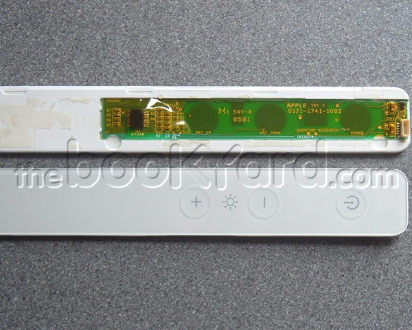 "Aluminium Cinema Display 20"" Side Control Panel (04/05 DVI)"