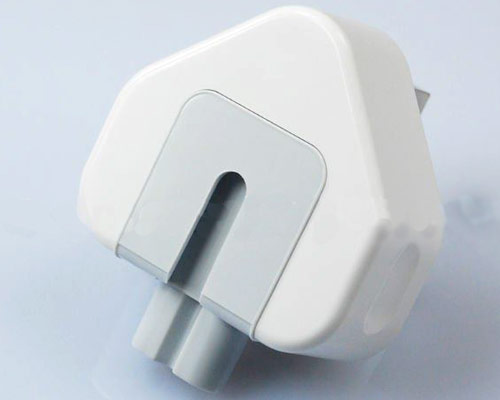 Mains plug/duckhead, Apple - UK v2