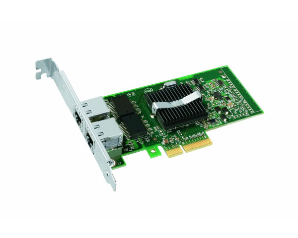 Ethernet Card - Dual-Port Intel Pro/1000 PT