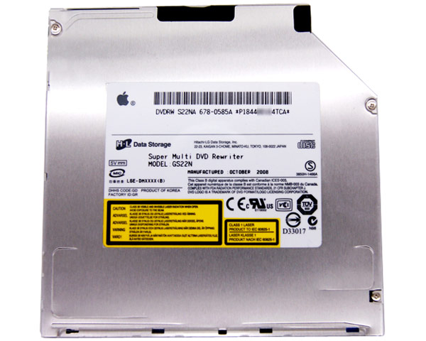 HL GS22N super-slim Superdrive (Apple)