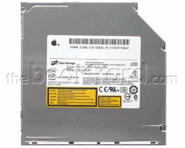 Hitachi.LG GSA-S10N super-slim Superdrive(Apple)