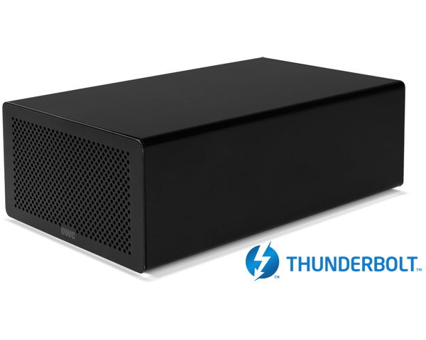 OWC Mercury Helios Thunderbolt 2 - Single PCIe Chassis - 20Gb/s