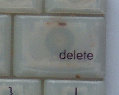 Delete (Backspace) - iBook G3 Clamshell
