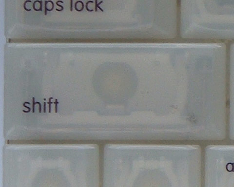 Shift - Left - iBook G3 Clamshell