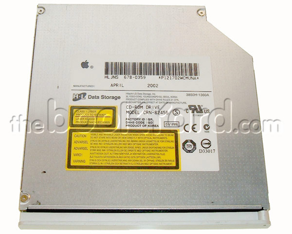 iBook G3 CD-ROM drive