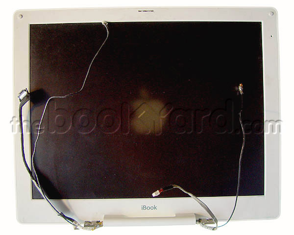 "iBook G3 12"" complete display (clear)"