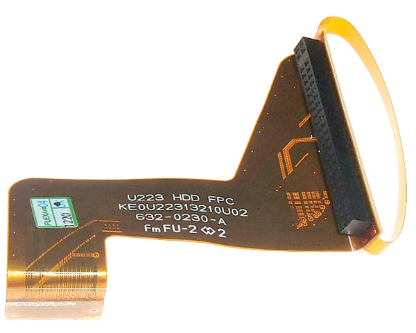 "iBook G4 14"" hard drive flex cable"