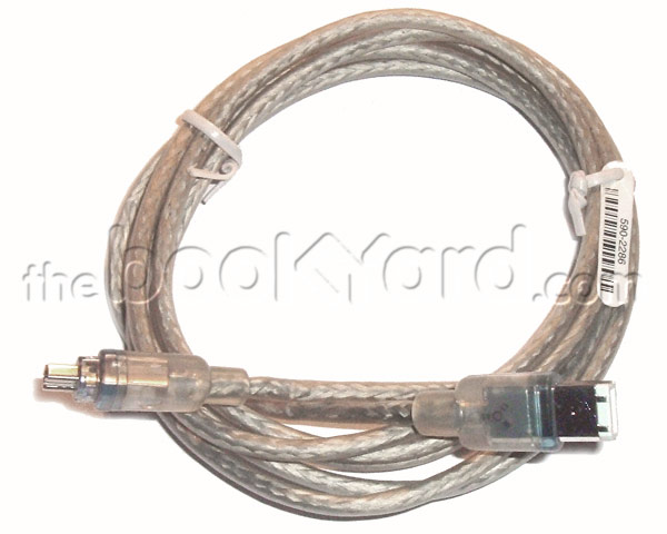 Apple iLink, FireWire, camcorder cable - 6/4 - 3 meter
