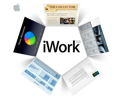 iWork \'08 full retail version, CD